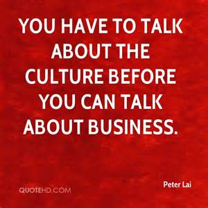 Quotes About Business Culture