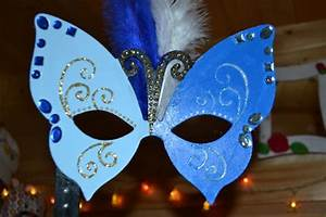 Masque Pour Peinture : masque de carnaval papillon atelier 63 silenceellecree ~ Edinachiropracticcenter.com Idées de Décoration