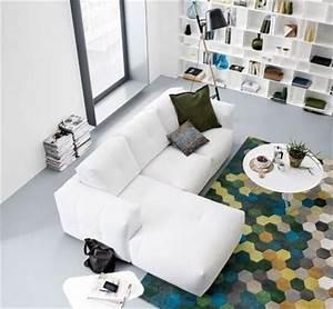 mettre en valeur mon vieux canape avec des plaids With tapis de sol avec canapé bo concept occasion