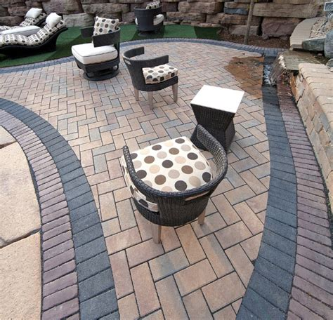 Installing Unilock Pavers - celebrate earth day with permeable pavers from unilock