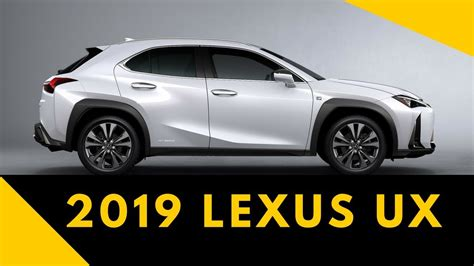 lexus ux price  specs youtube