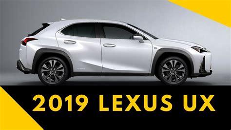 lexus ux price  specs youtube
