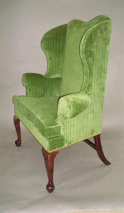 george ii mahogany wing or porters chair for sale at 1stdibs