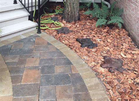 brick paver patio installation photos installing pavers exterior patio tiles concrete home