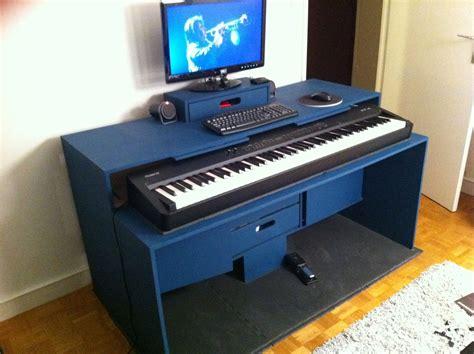 bureau studio musique table rabattable cuisine meuble studio musique