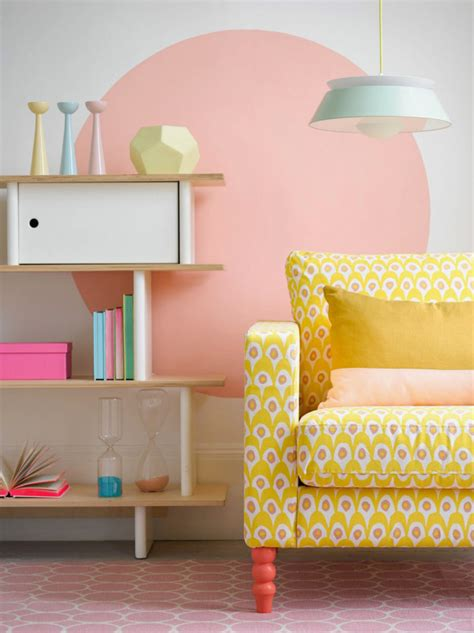 25 ways to pull a pastel accent wall stylecaster