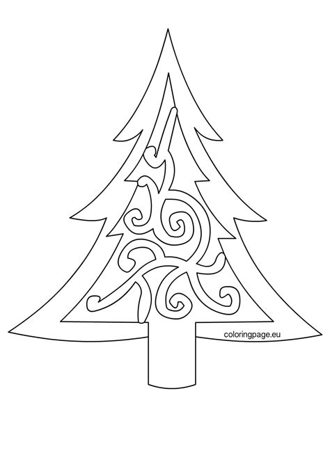 tree template coloring sheets christmas tree printable template coloring home