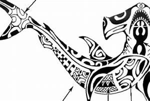 Signification Animaux Tatouage : motif tatouage polyn sien requin marteau paperblog ~ Dode.kayakingforconservation.com Idées de Décoration