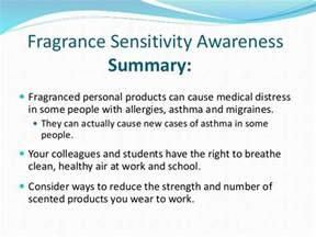 Fragrance Sensitivity Awareness