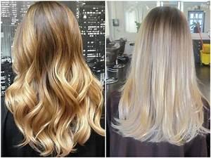 Ombre Hair Blond Polaire : balayage ombre blonde pour tre fabuleuse et actuelle ~ Nature-et-papiers.com Idées de Décoration