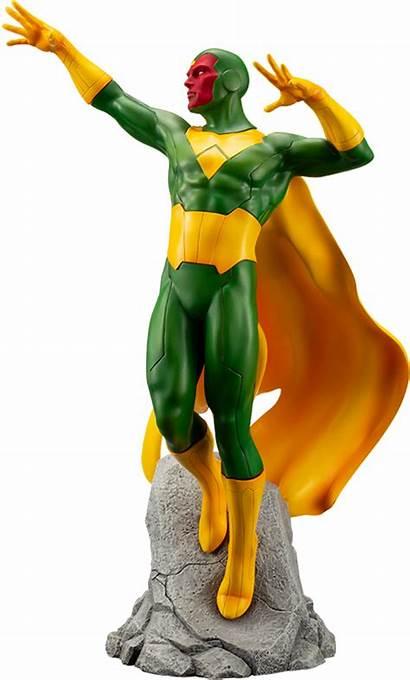 Vision Marvel Statue Sideshow Collectibles Kotobukiya Collectible