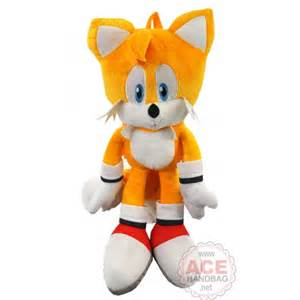 Sonic the Hedgehog Tails Plush Backpack