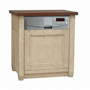 meuble lave vaisselle integrable pin salle a manger With meuble pour lave vaisselle integrable