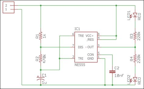 Led Circuit Diagram Letter by Pcb Layout Basics Component Placement Eagle
