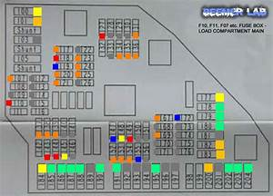 Beemer Lab  Bmw F10    F11    F07  Fuse Box Diagram