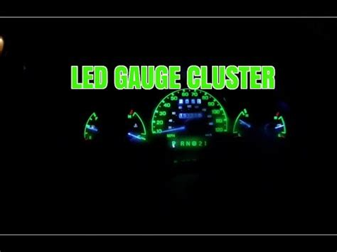 shift indicator light not working how to install leds in a cluster ford ranger how