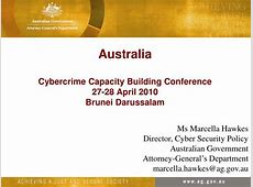 PPT Australia Cybercrime Capacity Building Conference 27