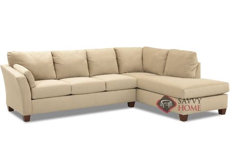 Sectional Sleeper Sofa Chaise by Fabric Sleeper Sofas Chaise Sectional By Savvy Is