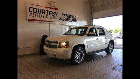 Courtesy Chrysler Ta by 2012 Chevrolet Avalanche Ltz White Pearl