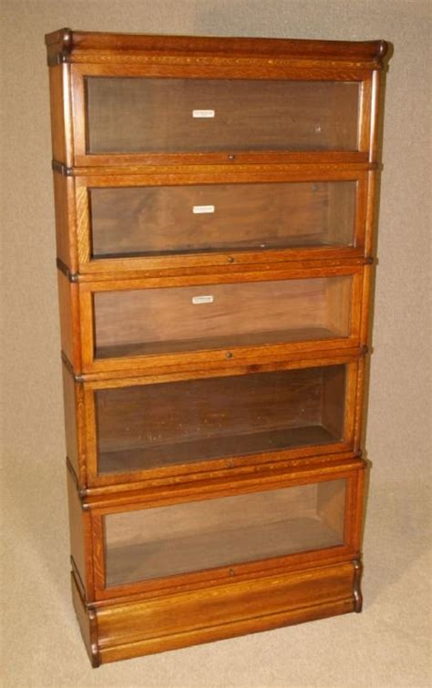 Antique Bookcases Uk by Antique Oak Globe Wernicke Library Bookcase 169825