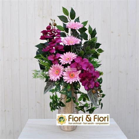 fiori per cimitero bouquet fiori artificiali gerbera rosa in tessuto lavabile