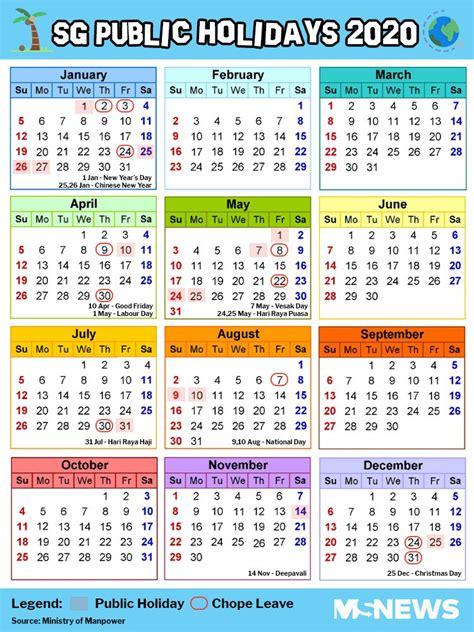 hack singapore public holidays days leave