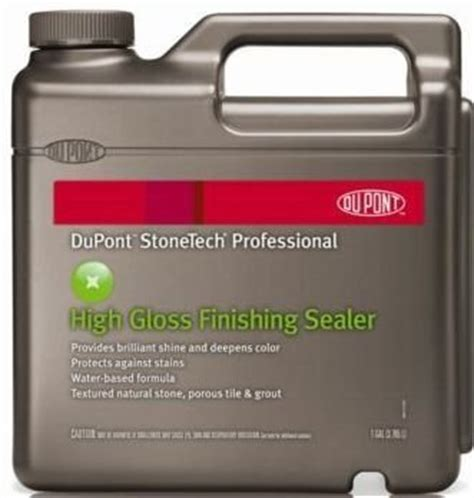 Dupont Tile Sealer High Gloss by Dupont Stonetech Professional High Gloss Finishing Sealer