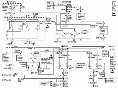 Headlight Wiring Diagram Lstech Camaro Firebird