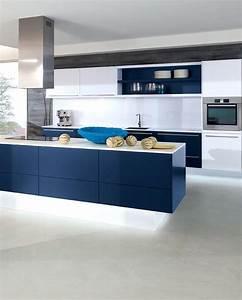 Wandfarbe Küche Trend : trend farbe maritime farben k che alnofine von alno bild 12 sch ner wohnen ~ Markanthonyermac.com Haus und Dekorationen