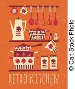 affiche cuisine retro affiche retro cuisine affiche cuisine style retro