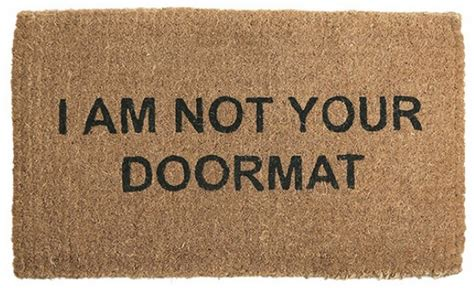 Definition Of Doormat by Quot Idiot Quot Compassion Elephant Journal
