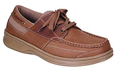 Boat Shoes With Arch Support by Orthofeet Baton Comfort Arch Support