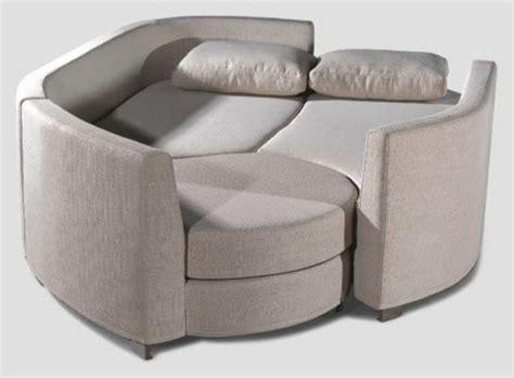 canapé rond convertible le design du canapé convertible pratique et confortable