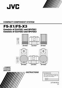 Jvc Fs X3 Hifi System Download Manual For Free Now