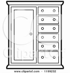 cupboard Colouring Pages