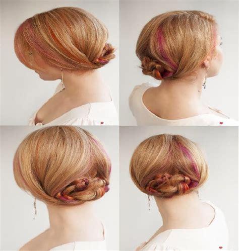 coiffure simple et chic pour mariage coiffure chic et facile cheveux courts coiffure simple