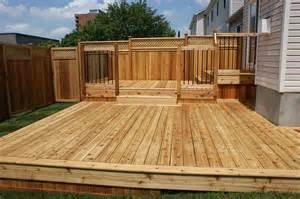 Simple Timber Deck Plans Ideas Photo by Backyard Renovation And Deck Construction