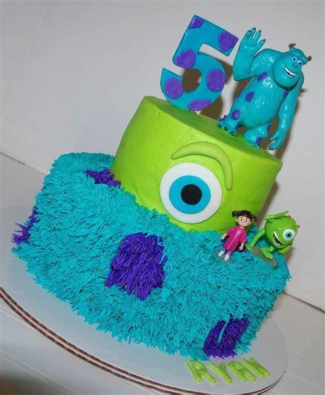monster  cakes ideas  pinterest monsters