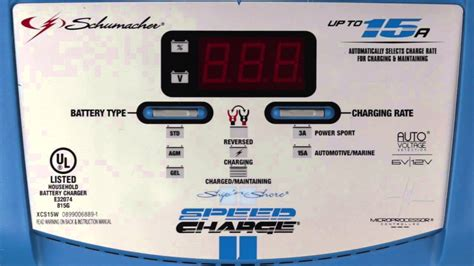Marine Battery Charger Not Working by Xcs15w 15 Marine Battery Charger From Schumacher