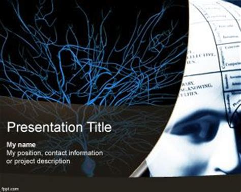 Neurological Template by Neurology Powerpoint Template