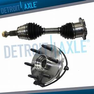 New Front Wheel Hub And Bearing Chevy 6lug W  Abs   Front