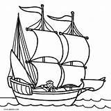 Boat Coloring Sailboat Printable Mayflower Cool2bkids Drawing Ausmalbilder Boot Colorir Navio Pintadera Desenhos Clipartmag Nuovo sketch template