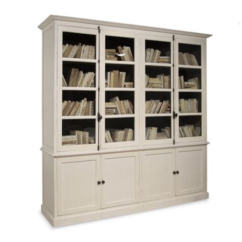 martin ivory glass door bookcase bookcases with glass doors find bookcases with glass