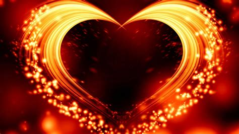 Heart With Glitters HD Heart Wallpapers | HD Wallpapers | ID #60488