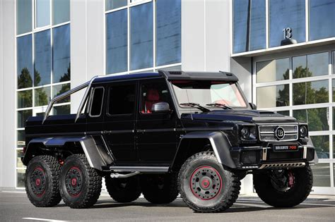 The Brabus B63s700 6x6 Is Not As Expensive As You Might