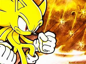 Super Sonic the hedgehog wallpaper by Sonic8546 on DeviantArt