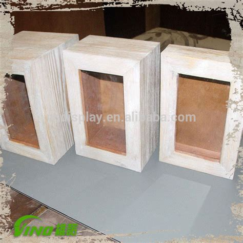 wooden box frame white shadow box frames buy handmade photo 1155