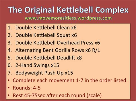 kettlebell workout complex minute loss fat stationary bike aggressive perfecting sprints minutes increasing goal physical keep while under