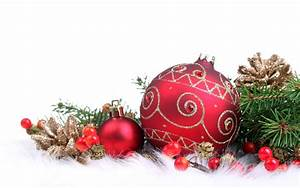 Red Christmas decorations - Christmas Wallpaper (22228021