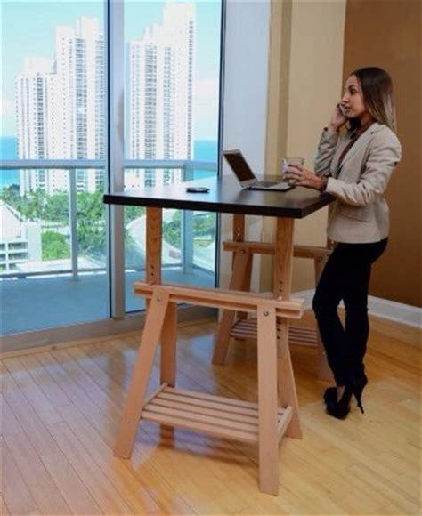 bureau position debout kit de conversion bricolage pour créer un bureau debout